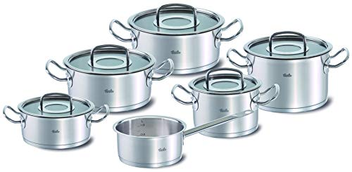 Fissler 084-136-06-000/0 Topfset original-profi collection Kochtopfset, Edelstahl